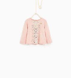 Image 1 of Floral top with birds #joinlife from Zara