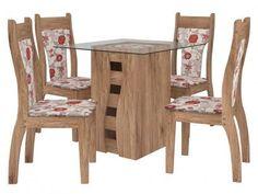 Conjunto de Mesa 4 Cadeiras - Milão Celta Móveis com as melhores condições você encontra no Magazine Tamaraadrielle. Confira!