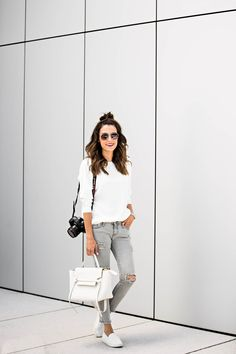 Hello Fashion in the perfect neutral look.