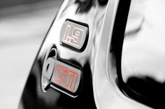 When a badge says it all. #peugeot #205 #gti
