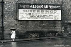 The former Alhambra Cinema in Leith Walk (closed in 1958). Photograph by Robert Blomfield, 1965
