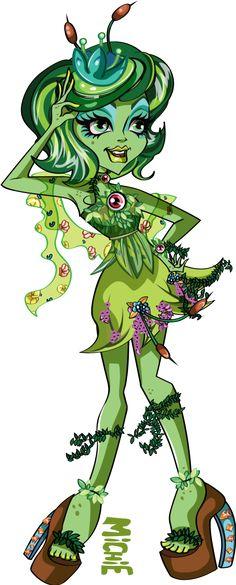 Commission - Sally Swamp fullbody by mi-chie on DeviantArt