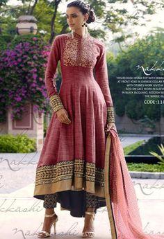Maroon Khadi Designer Palazzo Salwar Kameez..@ fashionsbyindia.com #designs #indian #fashion #womens #style #cloths #fashion #stylish #casual #fashionsbyindia #punjabi #suits #wedding #salwar #kameez #chic #outfits