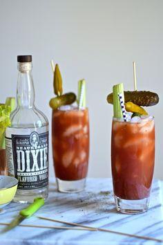 Dixie Black Pepper Vodka Bloody Mary's