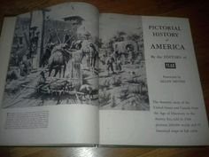 Pictorial History of America by Editors of YEAR foreword by Allan Nevins 1958