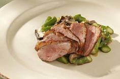 How to cook duck breast.