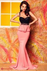 Resultado de imagem para rochii lungi roz