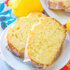 This Copycat Starbuck's Lemon Loaf is so moist and full of lemon flavor and a simple glaze on top makes this absolutely scrumptious! Lemon Drizzle Cake, Lemon Dessert Recipes, Lemon Recipes, Baking Recipes, Cake Recipes, Desserts, Bread Recipes, Healthy Recipes, Phone Backgrounds