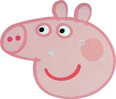 Amazon.com: Peppa Pig - Peppa Pig - Card Face Mask: Toys & Games