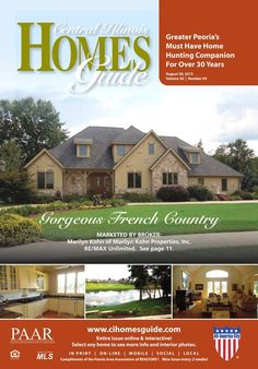 This hump day brings us a new issue of the Central Illinois Homes Guide! It doesn't hit stands until Friday but you can view it now at http://read.uberflip.com/i/160326. Every beautiful home is interactive meaning that you can click on any one to view more photos and information. #Peoria #IL #homesforsale #realestate #homesguide #CentralIllinois