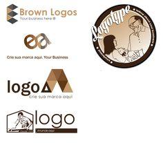 Algumas logos que criei que não foram aplicadas. Adobe Illustrator