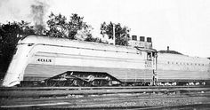 In 1937 West Burlington installed a stainless steel shroud and roller bearings on CB&Q 3002 4-6-4 in order to use it for substitute power on the Zephyrs. It was renumbered 4000 and named Aeolus (Greek God of the Winds)