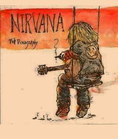 Kurt Cobain Art, Kurt Cobain Quotes, Nirvana Kurt Cobain, Music Tattoos, Cool Tattoos, Nirvana Art, Arte Punk, El Rock And Roll, Donald Cobain