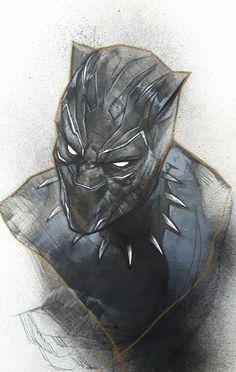 Black Panther by Ben Oliver *