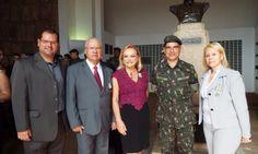 Leandro Borges da Silveira, Luiz Carlos e Maria Ines Borges da Silveira, General Lancia e Valéria Borges da Silveira.
