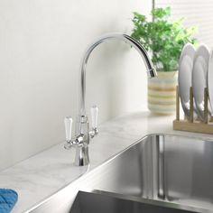 Rune Monobloc Basin Mixer Francis Pegler by Comap Square Kitchen Sink, Modern Kitchen Sinks, Kitchen Mixer Taps, Kitchen Sale, Sink Mixer Taps, Basin Mixer, Kitchen Handles, Kitchen Ideas, Taps