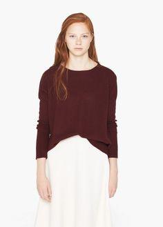 Jersey cuello redondo | MANGO