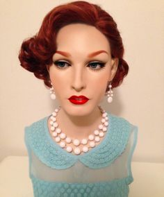 From my personal collection, 1950's bust