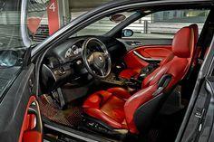 Imola Red Interior