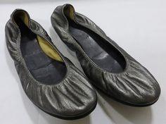 Lanvin paris ballerina women flat shoe gliter silver size 8.5/38.5 NIB MSRP $465 #Lanvin #BalletFlats