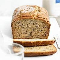 We LOVE, LOVE, LOVE this banana bread recipe! I tweaked it a little making sure I had 5 large bananas, 1/2 teaspoon more cinnamon, and doubled the topping. Sooo GOOOD!