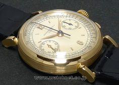 43' PATEK PHILIPPE R.591 YG Chronograph