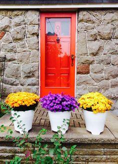 Châteauguay, Québec, Canada #photo #porte #door #voyage #travel Merci Stéphanie!