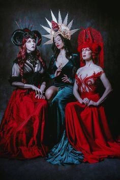 Halos // Miss G Designs #missgdesigns #headdress #costume #headpiece #burningman #lighteninginabottle #electricforest