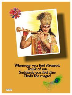 Bal Krishna, Radha Krishna Love, Shree Krishna, Krishna Songs, Radha Krishna Quotes, Janmashtami Quotes, Dreamer Quotes, Enjoy Quotes, Krishna Mantra