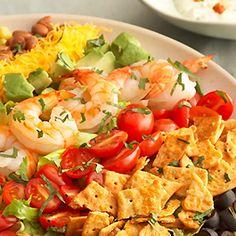 Skinny Rainbow Mexican Salad