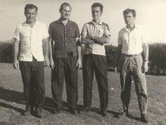 Da direita para a esquerda: Biotto, Valter,Nilson e Sérgio