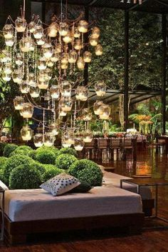 20 Outdoor Lighting Ideas for a Shabby Chic Garden is Lovely #