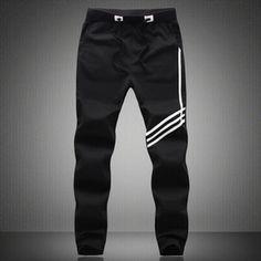 2015 Tracksuit Bottoms Mens Joggers Sweat Pants Men Casual Pants - Black #Menscasualpants #CasualPants