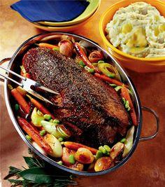recipes magazine: Pot Roast Silverside of Beef
