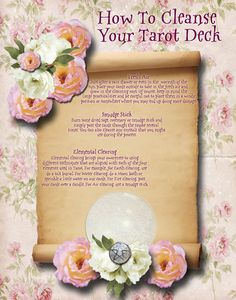 How to cleanse your Tarot Deck