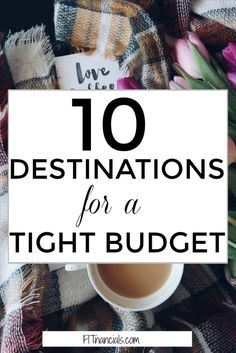 10 travel destinations for a tight budget. This is such a great list for anyone who is trying to travel on a budget, travel cheaply, and have an exciting trip!