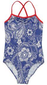 Paisley Blue Swimsuit for Girls