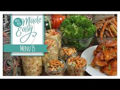 *NEW* Meal Prep Menu 16 | Tomato Bisque, White Bean Cassoulet, Ratatouille, Mini Quiches - YouTube