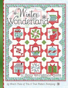 Winter Wonderland BookSherri Falls of This & That Pattern Company #ISE-908 | Fat Quarter Shop