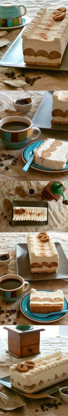 Pastel de cake pops de café y nata a la canela / http://www.elzurrondelospostres.com/