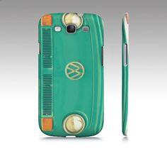 Groovy  Samsung Galaxy S3 Case iPhone  VW aqua teal bus by RDelean, $35.00
