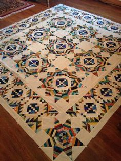 Patchwork Quilt Patterns, Quilt Patterns Free, Beginner Quilt Patterns, Patchwork Designs, Block Patterns, Pattern Ideas, Star Quilts, Scrappy Quilts, Half Square Triangle Quilts Pattern