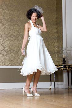 50's Hochzeitskleid für Schwangere | Foto: Mamarella