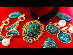 美しすぎる煌めきにうっとり♡レジンで作る「オパール風」キラキラアクセが素敵♪ | Handful