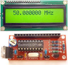 50MHz 60MHz Frequency Meter / Counter with 16F628 & LCD