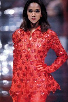 Katoucha Niane - Gattinoni couture - #lexeecouture