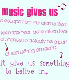 Music is the love and can fill your life with so much happiness! :-)