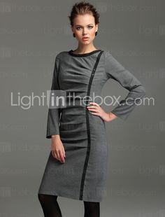 Vintage Pleat Dress - vintage style, new dress