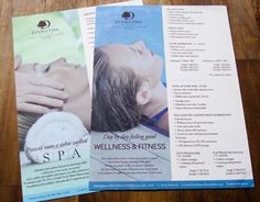 """Check out new work on my @Behance portfolio: """"Leaflets for theSPA"""" http://be.net/gallery/32458109/Leaflets-for-theSPA"""