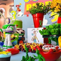 Best Indoor Garden Ideas for 2020 - Modern Toy Story Birthday, 11th Birthday, 1st Birthday Parties, Toy Story Baby, Festa Toy Story, Centerpieces, Table Decorations, Toy Store, Baby Boys